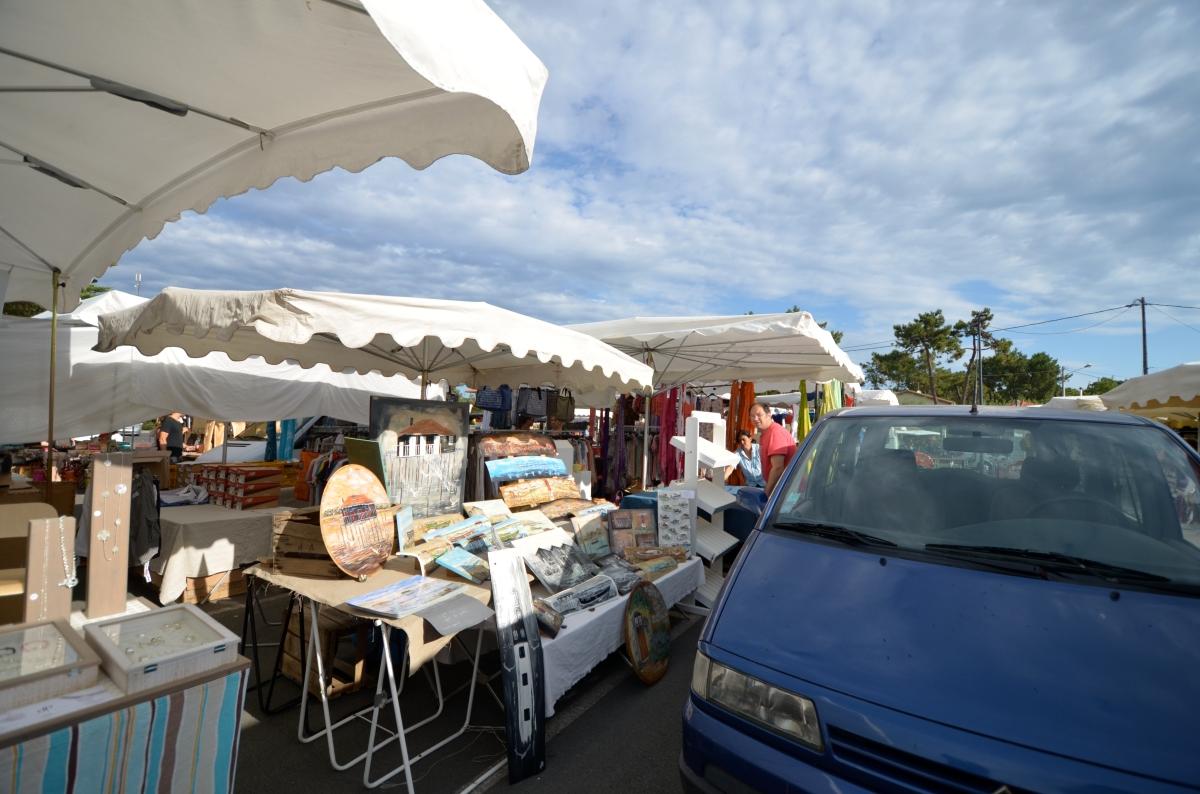 Vendre sur le marché du Cap Ferret