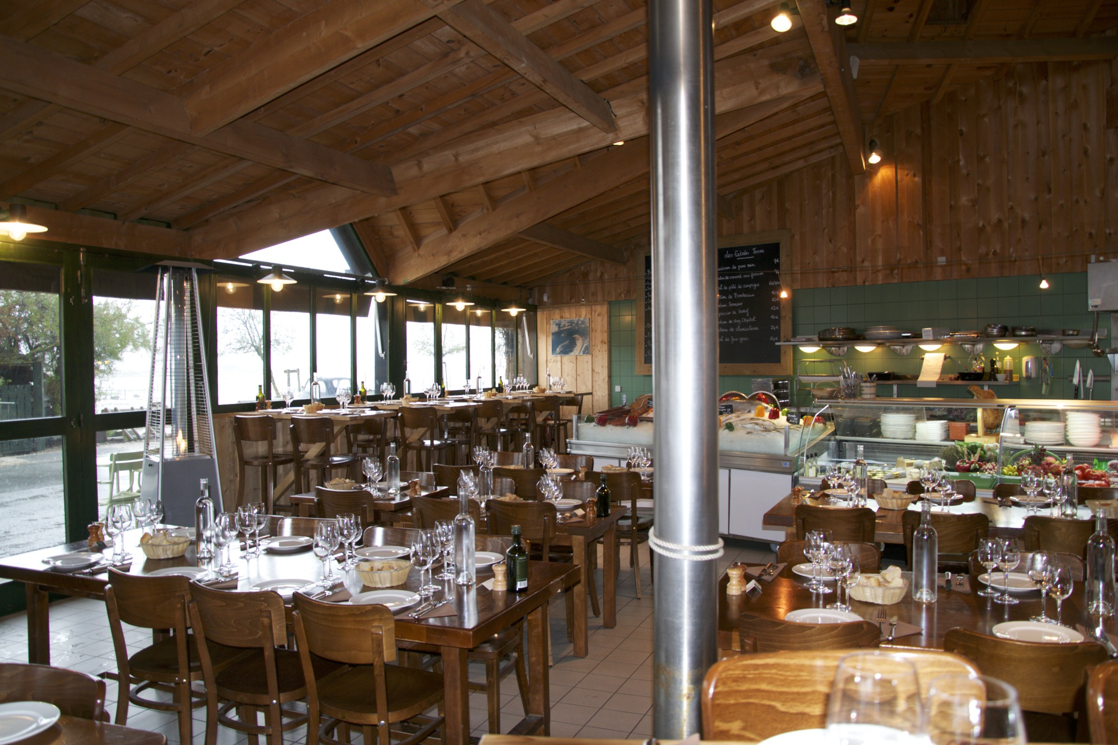 Le bouchon du ferret en novembre le cap ferret de sophie juby - Restaurant au cap ferret ...