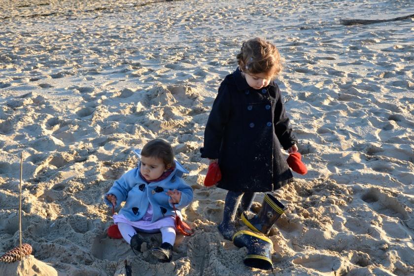la plage même en hiver