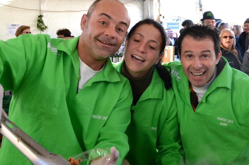 L'équipe du Pinasse café. Photo Sophie Juby