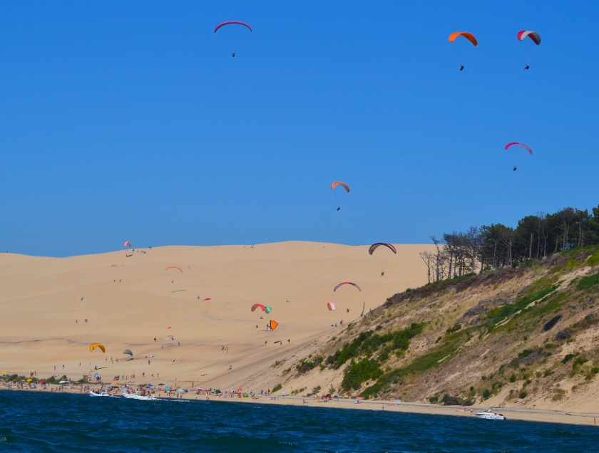la dune du Pyla.  photo sophie juby