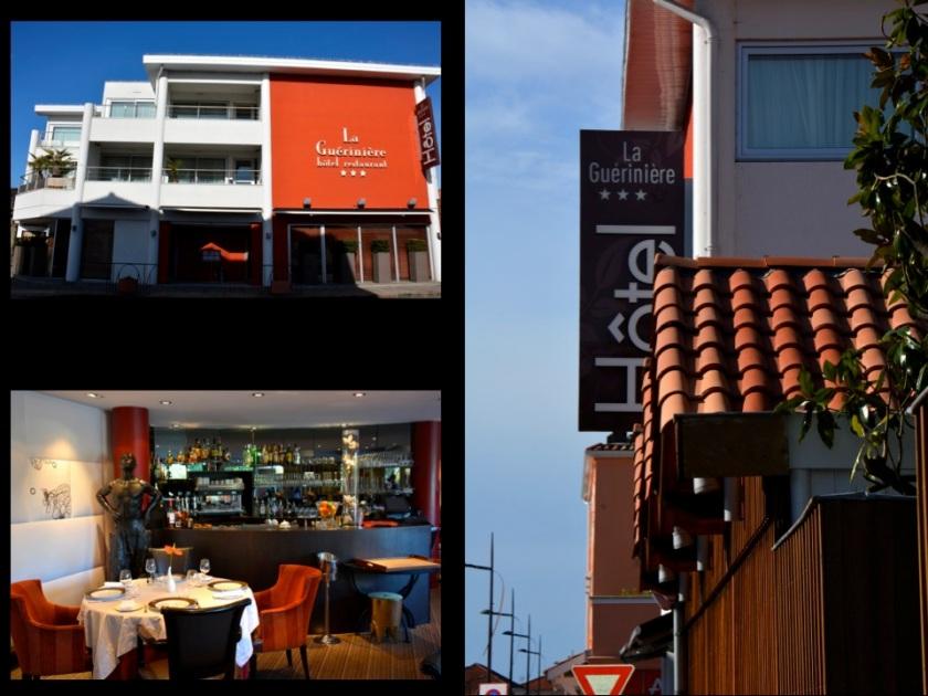 L'hotel restaurant la Guérinière à Gujan Mestras. Photo Sophie Juby