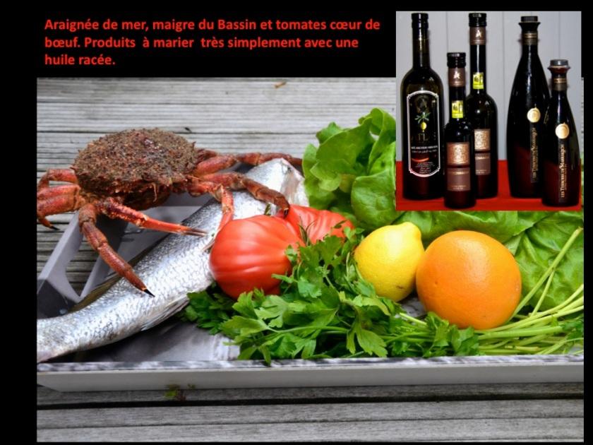 Un marché d'été à associer avec de jolies huiles. Photo Sophie Juby