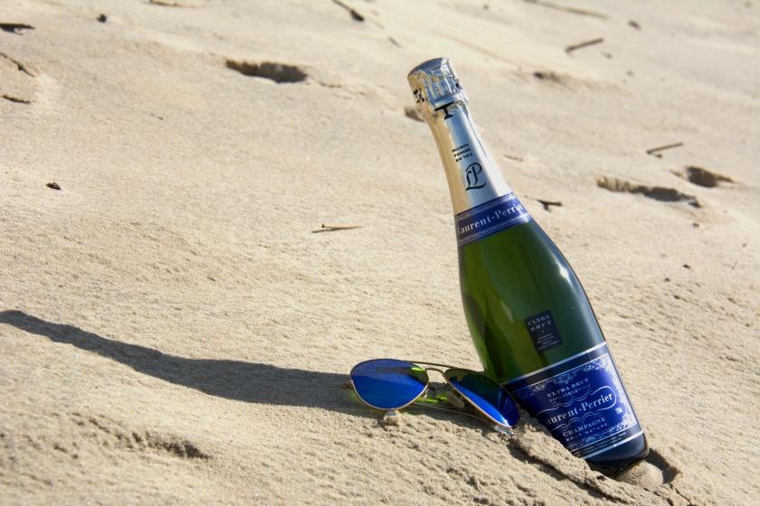 mon cocktail saint Valentin : Champagne & dune du Pyla Photo sophie Juby
