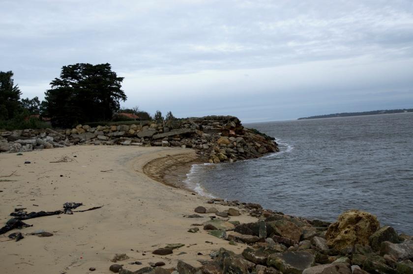 plage du Ferret après la tempête. Photo Sophie Juby