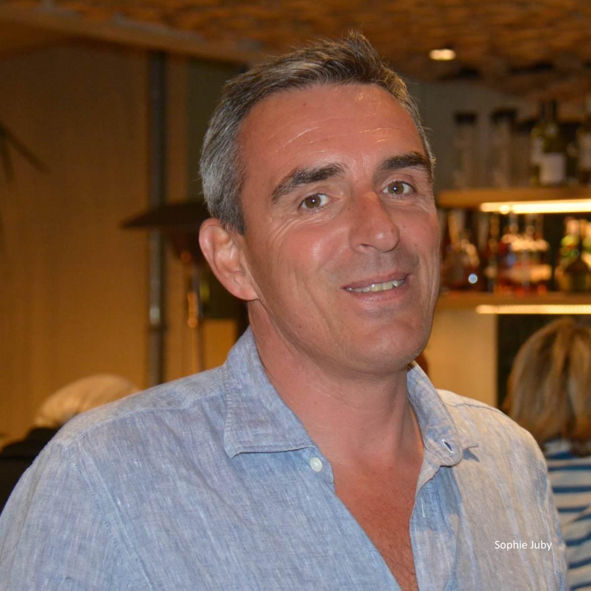 Laurent Tournier PDG du Pinasse Café, Cap Ferret
