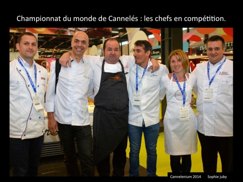 Christophe Girardot, champion du monde de cannelés 2014 : le trophée reste sur le bassin