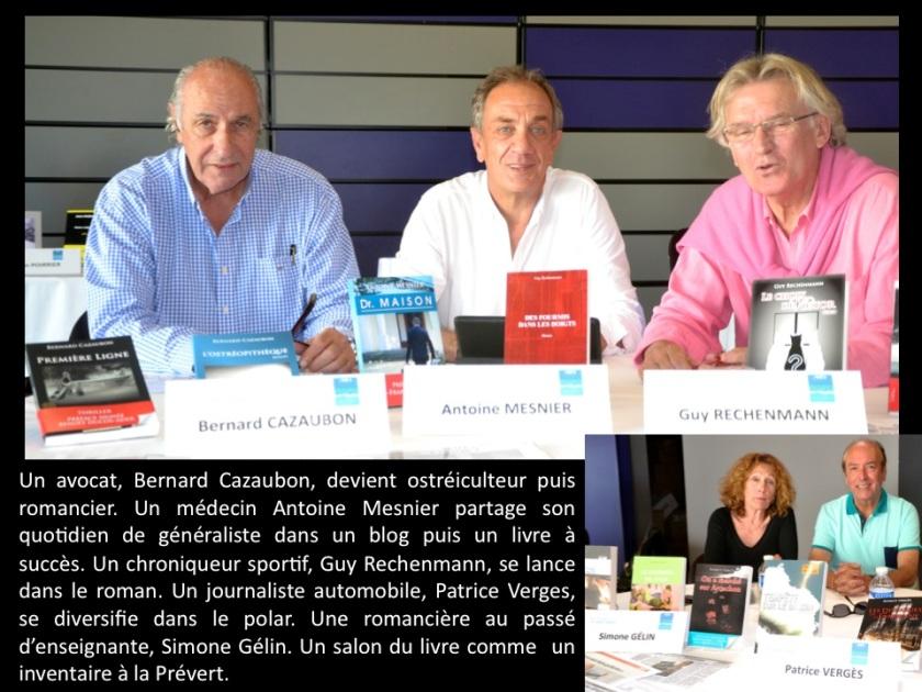 Bernard Cazaubon, Antoine Mesnier, Guy Rechenmann Photo Sophie juby