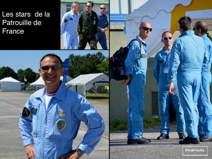 Pilotes patrouille de france à Cazaux, photo Sopihe juby