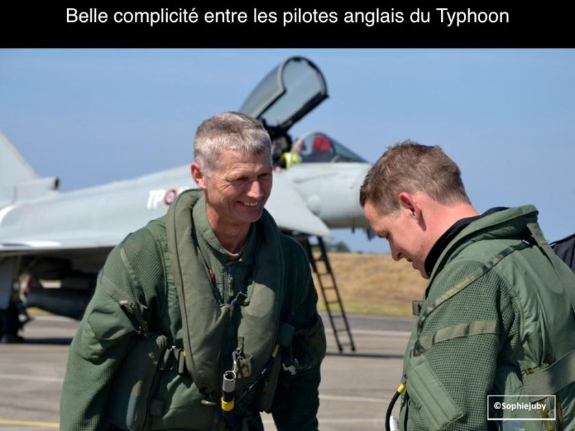Pilotes RAF a Cazaux, photo sophie juby