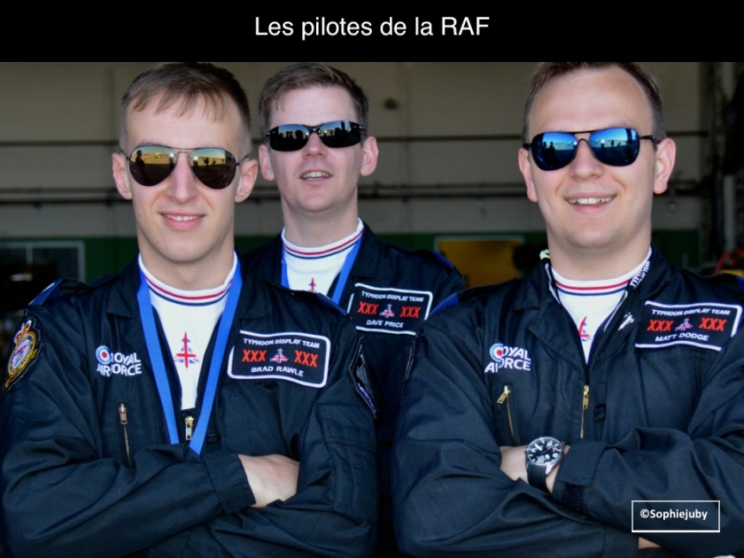 Pilotes RAF à Cazaux, Photo Sophie Juby