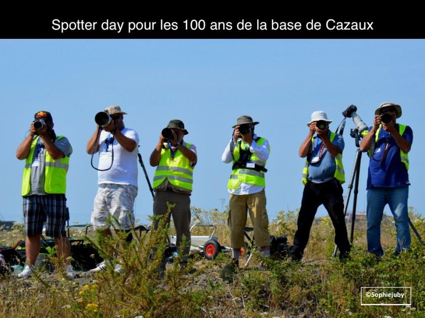 spotter day Cazaux