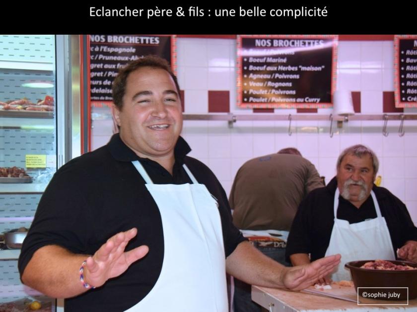 Boucherie Eclancher marché Cap Ferret
