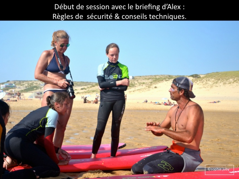 briefing avec Alex Cap Ferret