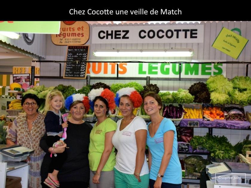 Chez Cocotte,  marché Cap Ferret.Photo Sophie juby