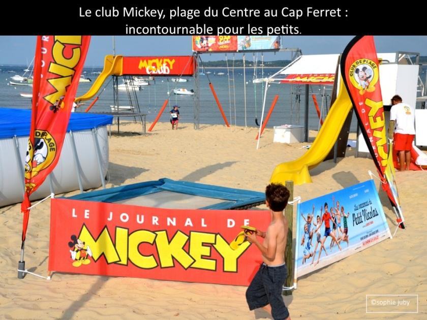 club Mickey Cap Ferret.Photo Sophie Juby