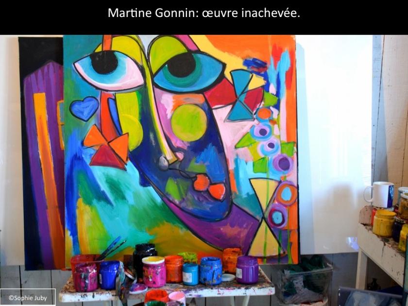 l'atelier de Martine Gonnin, grand piquey.