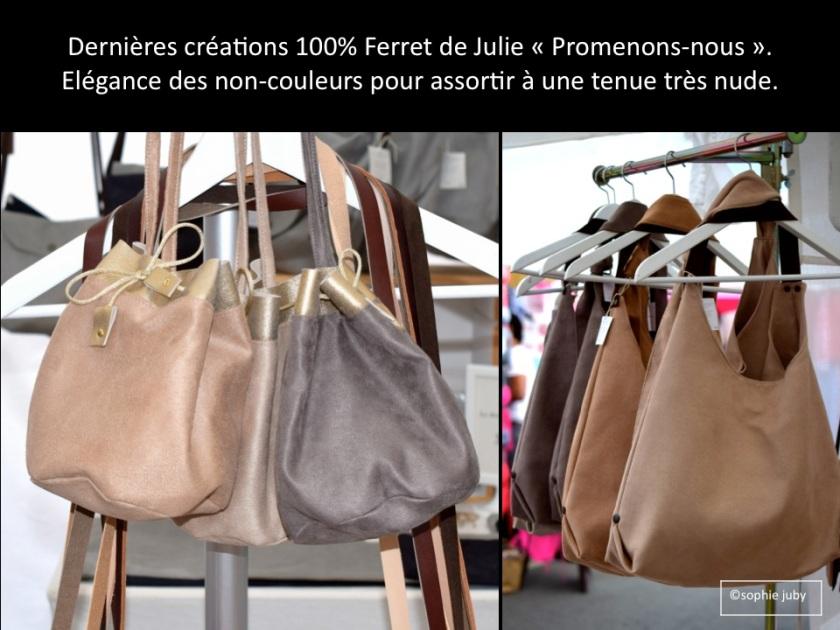 Sacs Promenons-nous, marché Cap Ferret , photo Sophie Juby.
