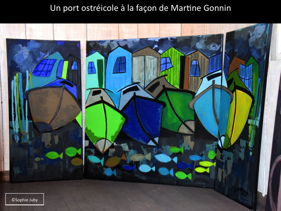 martine gonnin peintre du bassin le cap ferret de sophie juby. Black Bedroom Furniture Sets. Home Design Ideas