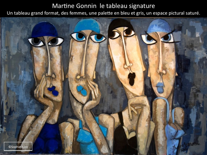 Tableau martine Gonnin, photo Sophie Juby