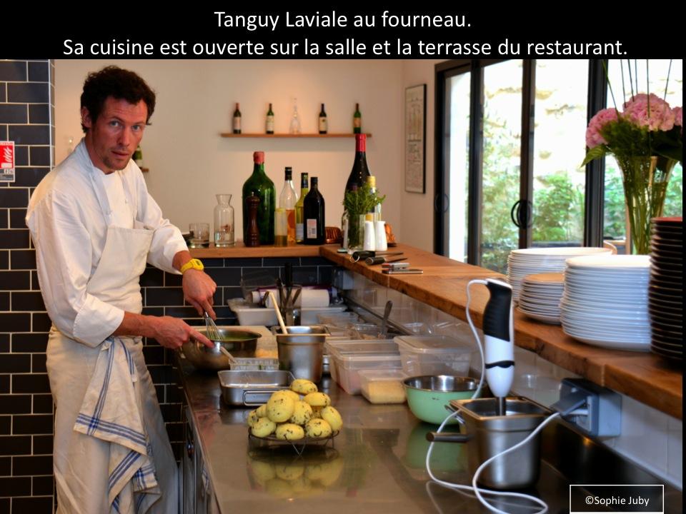 Restaurant garopapilles bordeaux la cuisine aux herbes for Cuisine ouverte restaurant norme