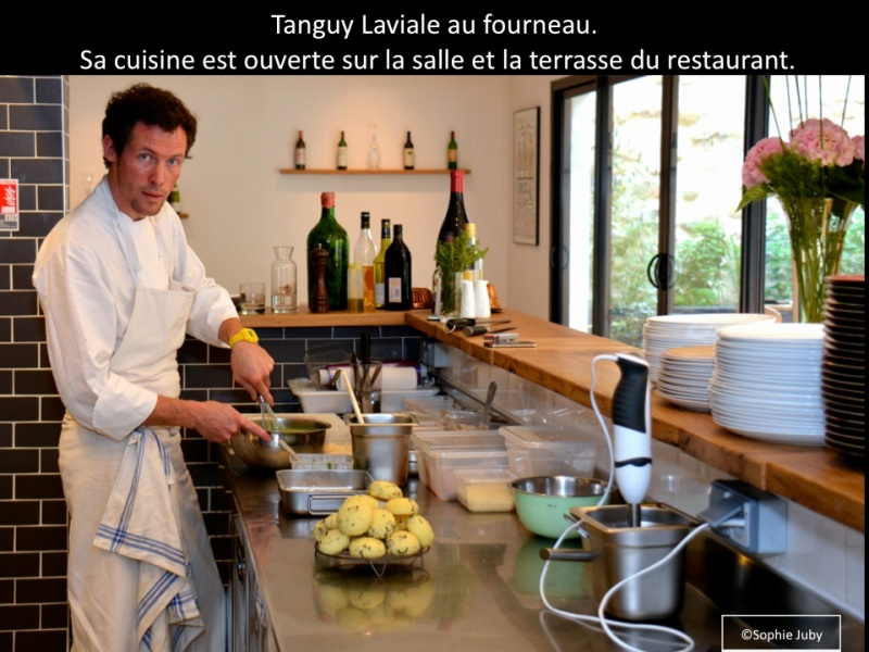 Tanguy Laviale, chef restaurant garoppilles, bordeaux