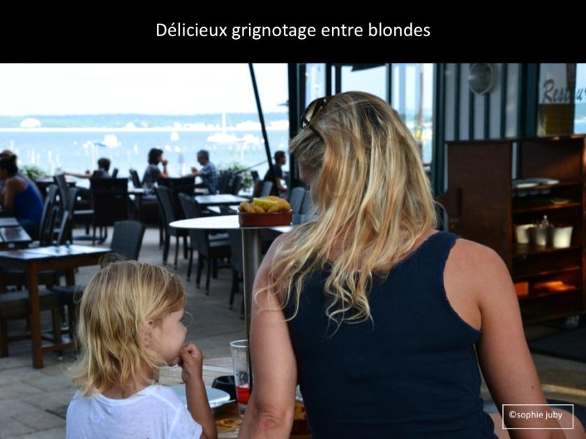 Tapas jetée Belisaire Cap Ferret, photo Sophie Juby