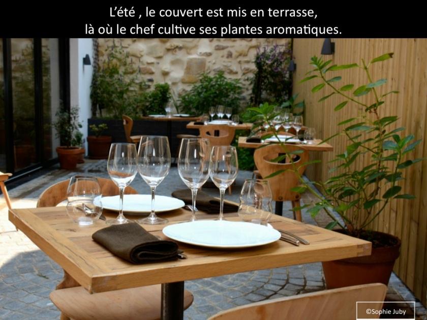 terasse restaurant garopapille Bordeaux