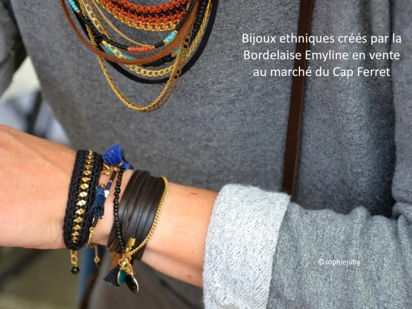 bijoux marché du cap ferret
