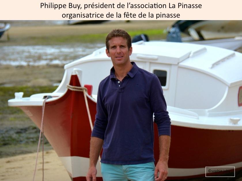Philippe Buy, association la Pinasse.