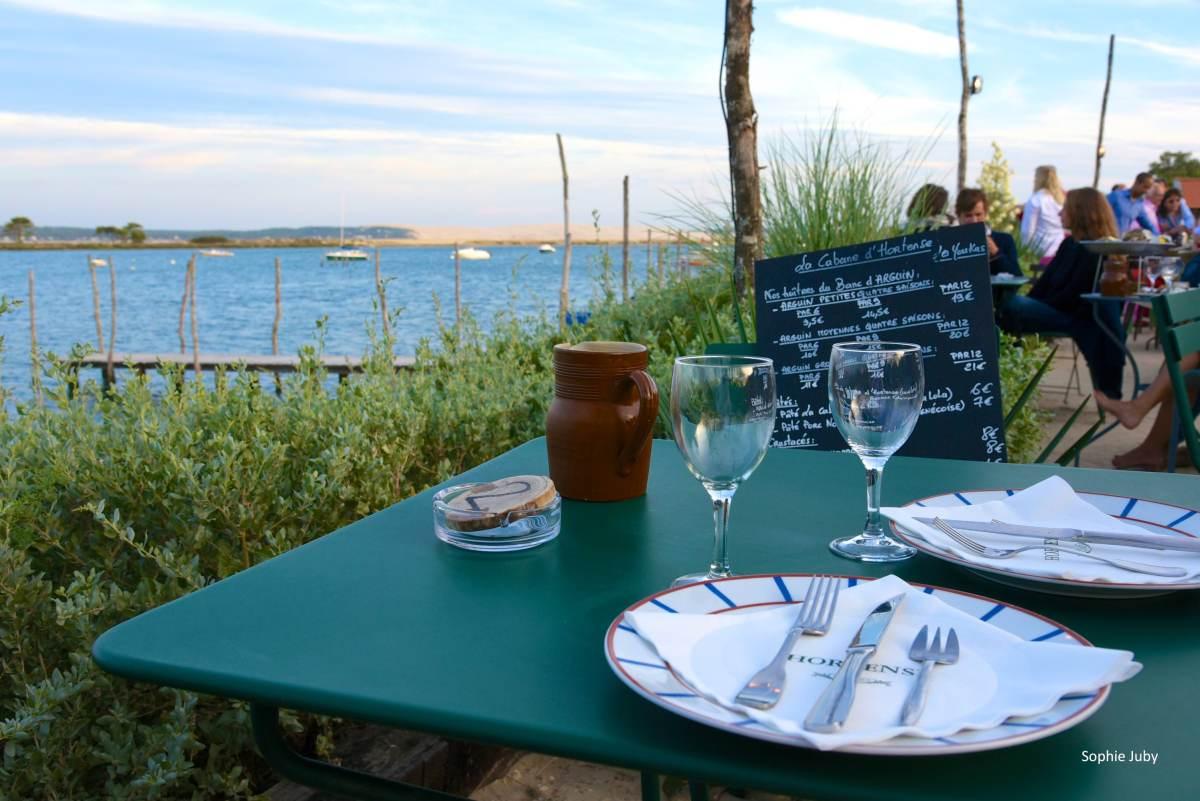 La Cabane d'Hortense,  l'esprit authentique et nature adapté à la dégustation d'huître.