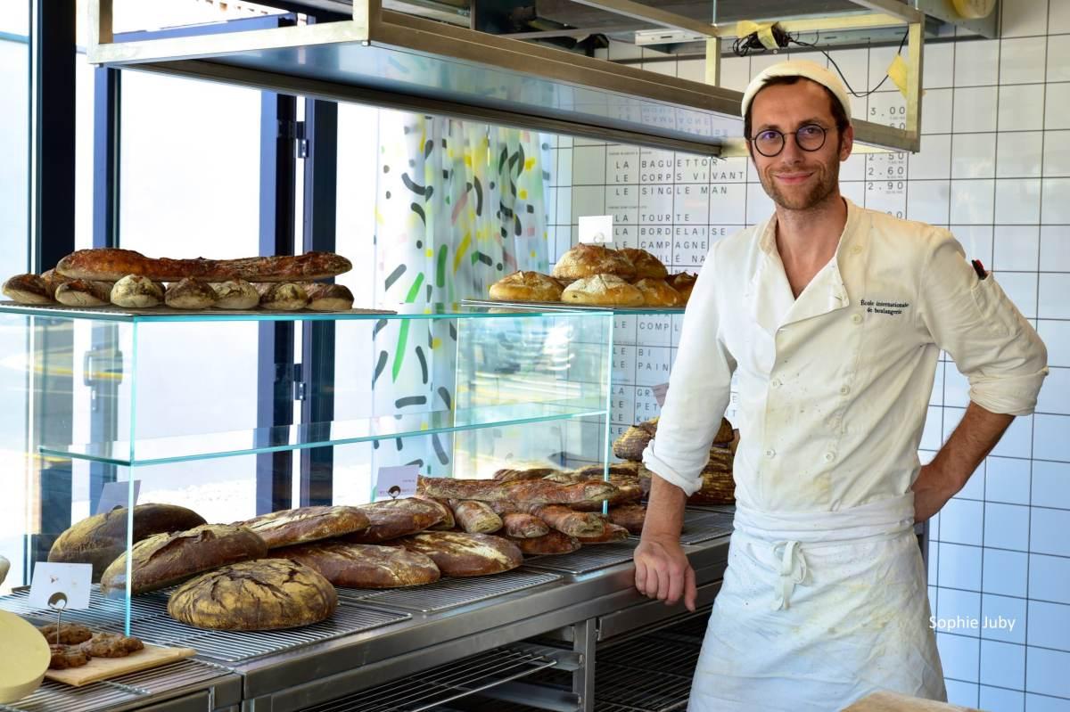 Pain Paulin, Boulangerie résolument bio de Petit Piquey