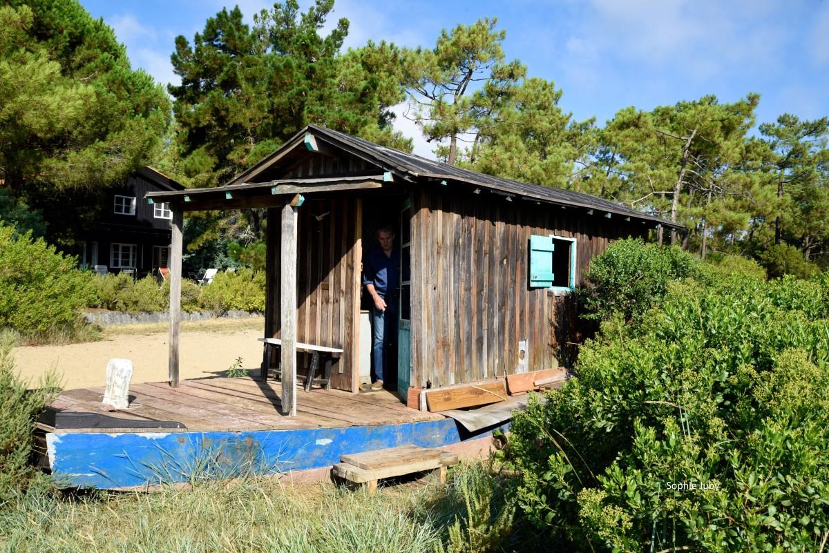 Rencontre avec Jean-Pierre Marladot, aquarelliste, à la Cabane Ponton du Mimbeau