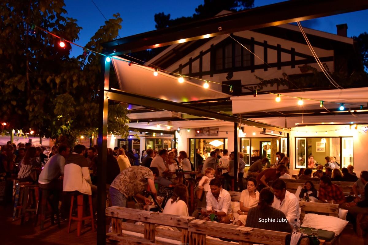 Chez Pierrette au Canon: le bar à grignoter, mojito et tapas.