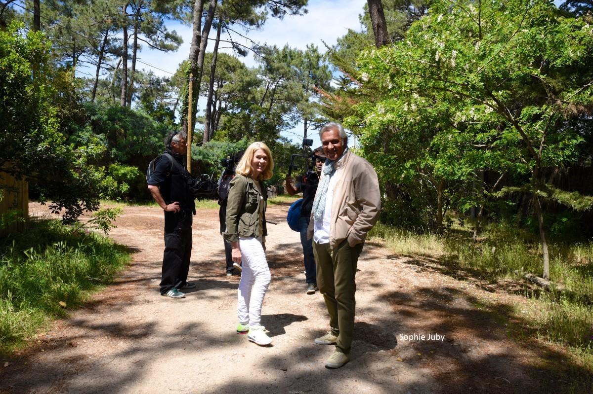 Balade dans les 44 hectares avec Stéphane Thebaut de la Maison 5
